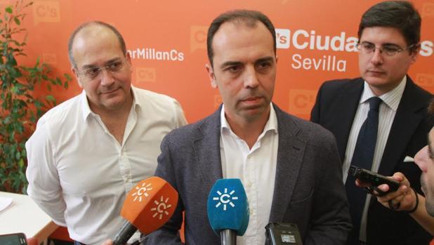 Javier Cabezas, Javier Millán y Álvaro Pimentel