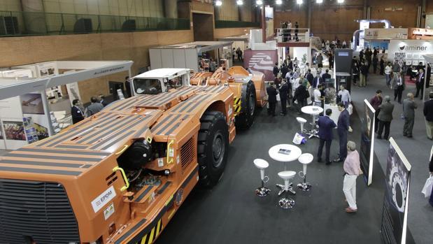 Feria de la minería metálica celebrada en Fibes