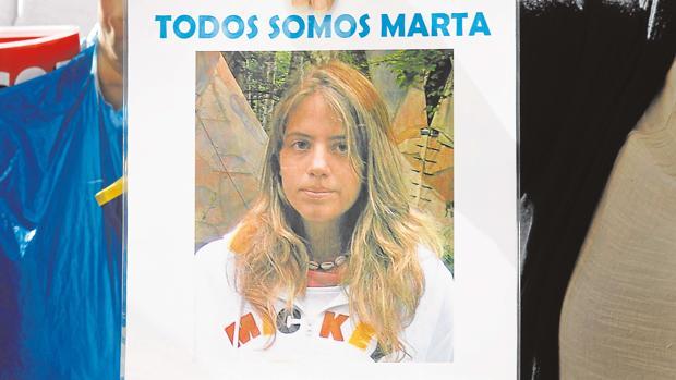 Cartel de la desaparecida Marta del Castillo