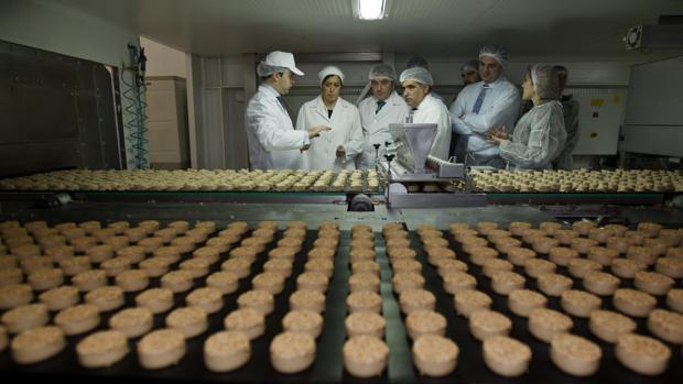 Una fábrica de polovorones de Estepa