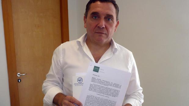 Joaquín Fernández Garro, vicepresidente del Consorcio Provincial de Aguas