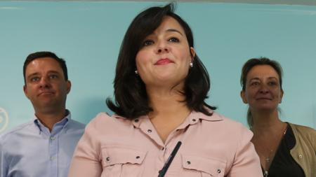 Virginia Pérez, portavoz del PP en la Diputación de Sevilla