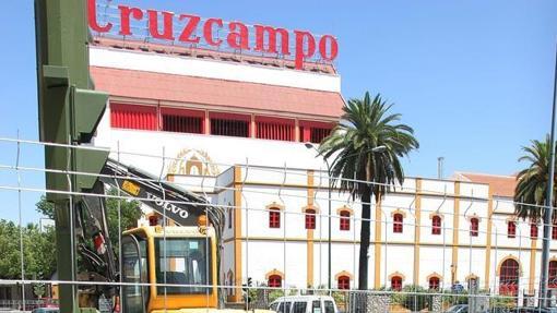 La antigua fábrica de Cruzcampo de Sevilla