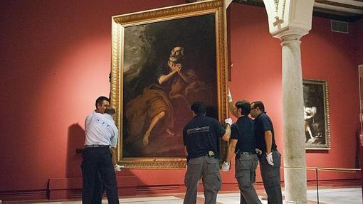 Una obra de Murillo en Los Venerables