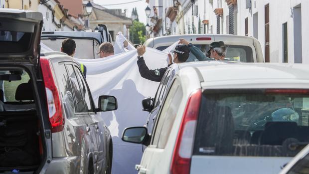 Detenido un hombre tras asesinar de una puñalada a su mujer en Olivares