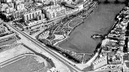 El tapón de Chapina, donde hoy está el puente
