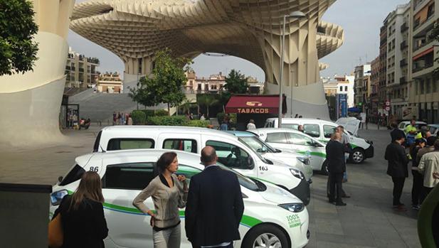 Presentación de vehículos eléctricos