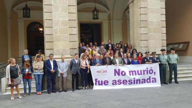Acto presidido por el alcalde en el Ayuntamiento de Sevilla