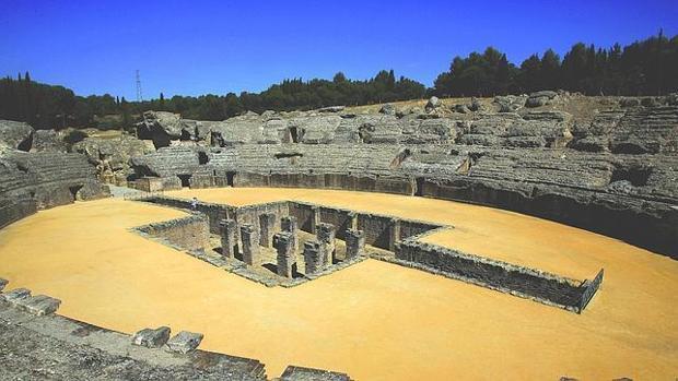 El Anfiteatro de Itálica