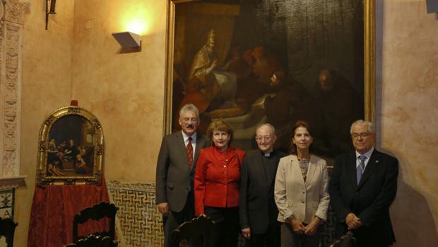 Los Grisebach, el padre García Gutiérrez, Isabel de León y Gómez Piñol
