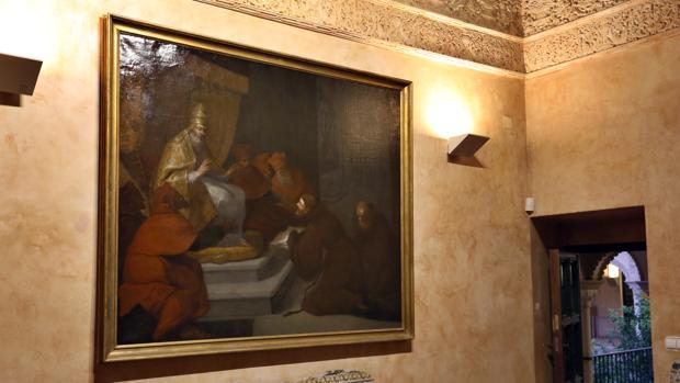El cuadro franciscano que vuelve a Sevilla tras cien años en Alemania
