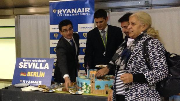 Inauguración de la nueva ruta con Berlín en el aeropuerto de San Pablo