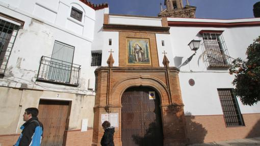 Otra de las entradas al monasterio