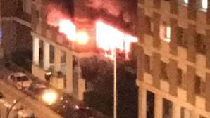 Dos fallecidas de avanzada edad en un incendio en una vivienda de Los Remedios
