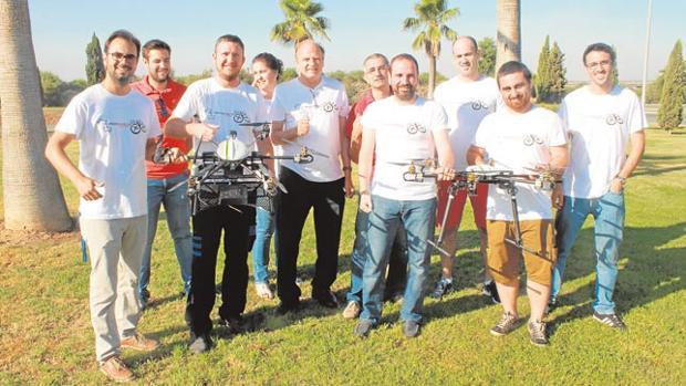Parte de los integrantes de este equipo andaluz