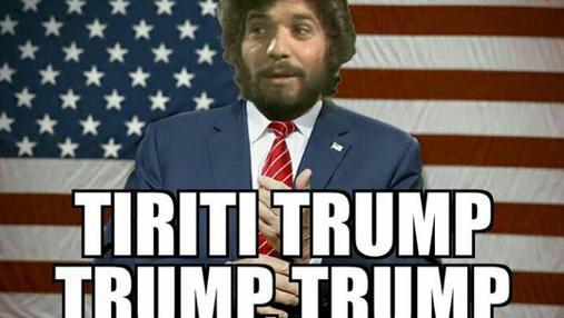 «Camarón Trump» por alegrías