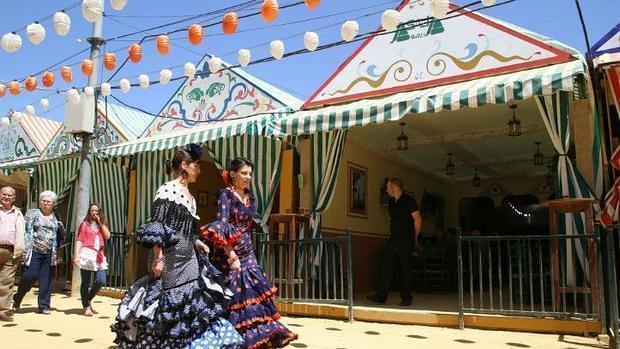 Casetas de la Feria de Sevilla