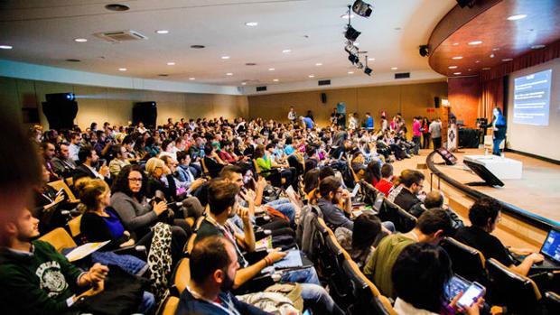 Asistentes a una de las ponencias de Evento Blog España 2015