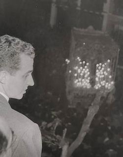 Don Juan Carlos, en la Semana Santa de Sevilla