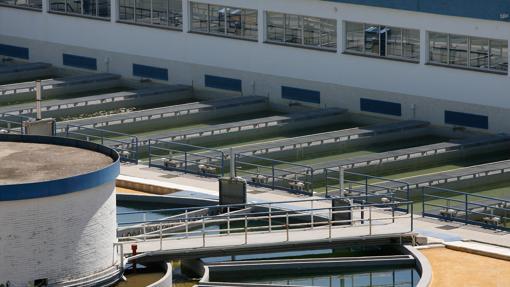imagen de una de las depuradoras de Sevilla capital