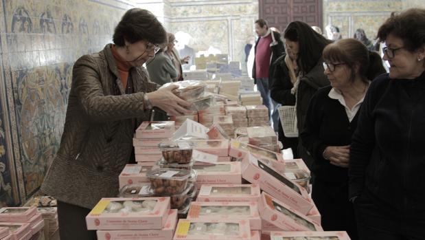 Exposición de Dulces de Conventos, en el Palacio Gótico del Alcázar