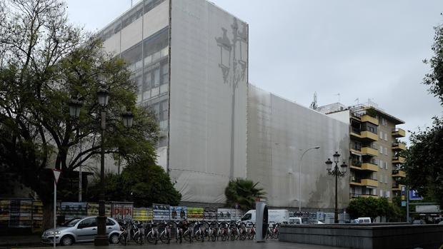 El edificio abandonado de la Gavidia
