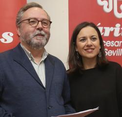 Mariano Pérez de Ayala y Auxiliadora González, de Cáritas