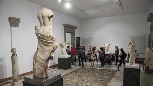 Una sala del Museo Arqueológico que lleva años a la espera de reformas