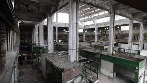 Estado actual del antiguo mercado de la Puerta de la Carne