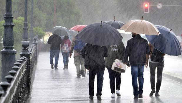 Siete provincias estarán en alerta este viernes por lluvia y nieve y lloverá en gran parte de la Península