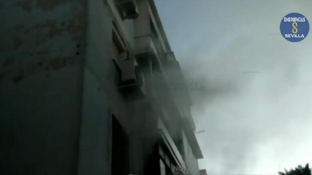Incendio en una vivienda de la calle Cerro Muriano