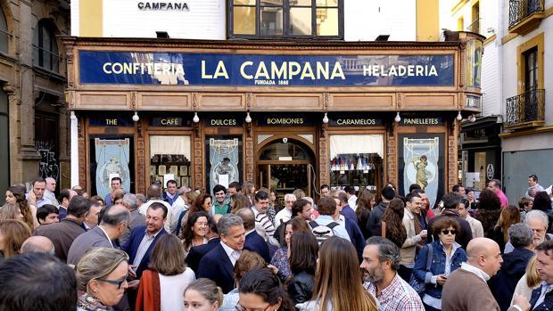Movilización en La Campana