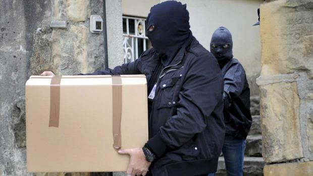 Imagen de archivo de una operación policial contra estos grupos mafiosos
