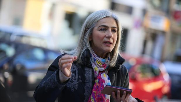 La diputada del PP, Patricia del Pozo