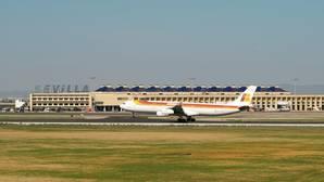 El aeropuerto de Sevilla superó los 4,2 millones de pasajeros en noviembre