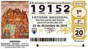 La administración de Ramón y Cajal en Sevilla vende dos quintos premios de la Lotería de Navidad 2016