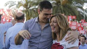 La última visita de Pedro Sánchez a Sevilla se produjo en el cierre de campaña de las elecciones de junio