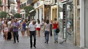 La calle Tetuán en Sevilla