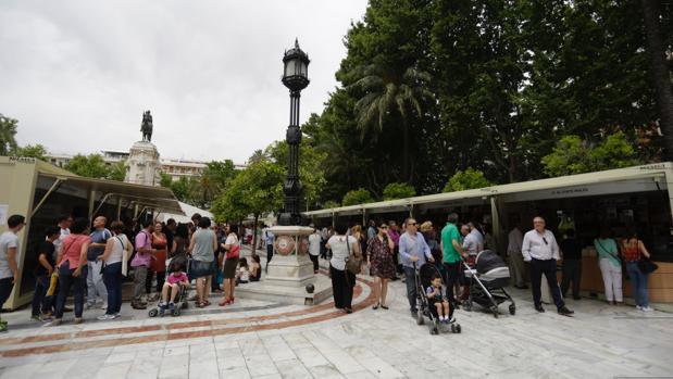 La Feria del Libro en Sevilla