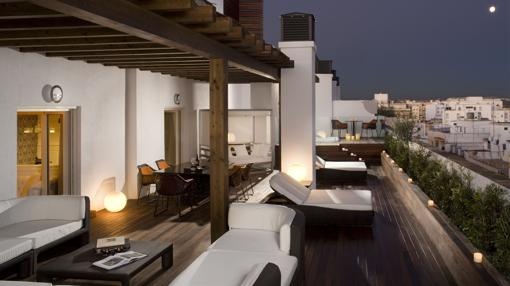 Suite del hotel Gran Meliá Colón