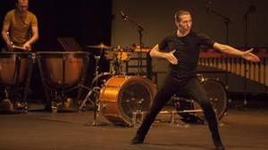 El gran bailaor sevillano Israel Galván, en uno de sus espectáculos