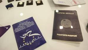 Los famosos «pasaportes» de la Expo 92