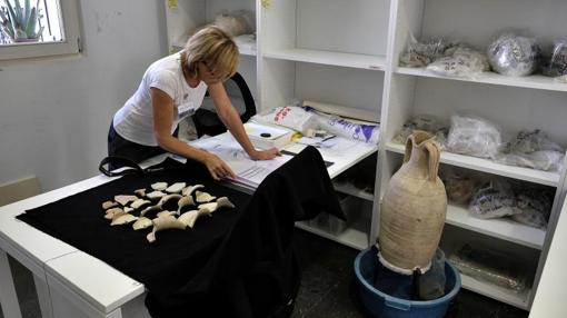Varias piezas arqueológicas que serán restauradas