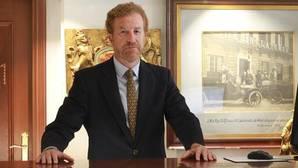 El presidente de Fahat y dueño del Hotel Inglaterra de Sevilla, Manuel Otero