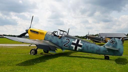 El avión caracterizado para la película «Dunkerque»