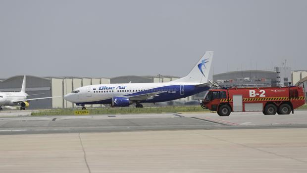 Imagen de archivo de la pista del aeropuerto de San Pablo