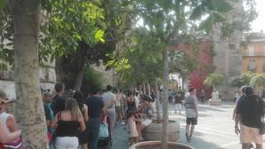 Colas kilométricas en el Real Alcázar de Sevilla