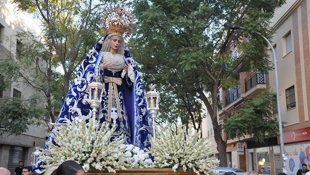 Rosario de la aurora de la Virgen de los Dolores / RECHI