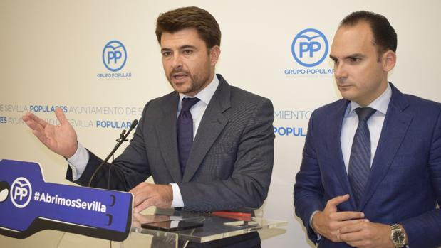 Los populares Beltrán Pérez y Rafael Belmonte
