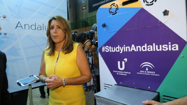 Susana Díaz en el congreso de educación internacional